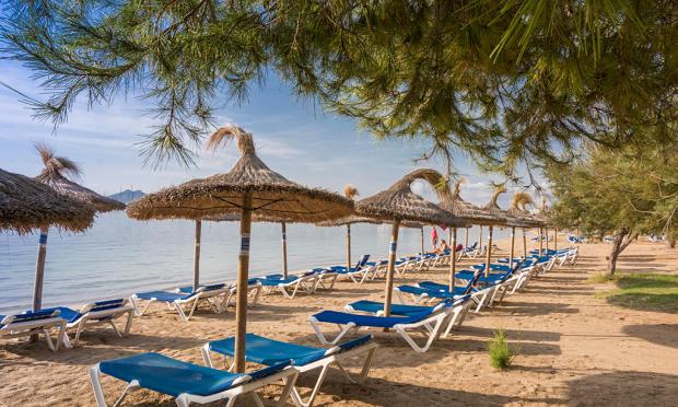 beach Pto Pollensa
