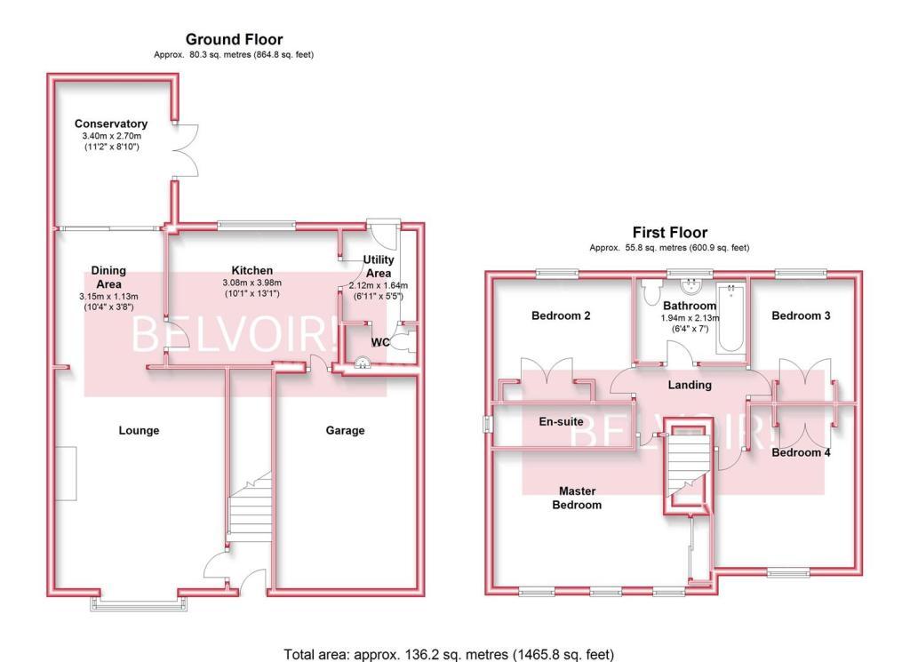 28 Friston Way Floor