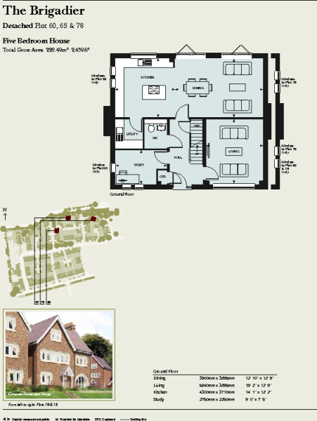 Brigadier floor plan