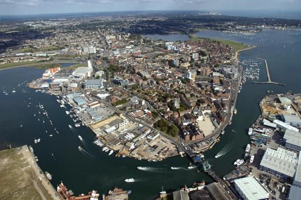 Poole Harbour town a