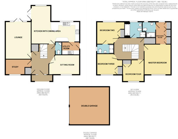 7 Kingfisher Close Floorplan