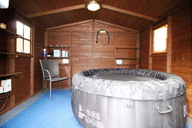Summer House Hot Tub