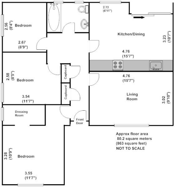 Willow lodge floor plan