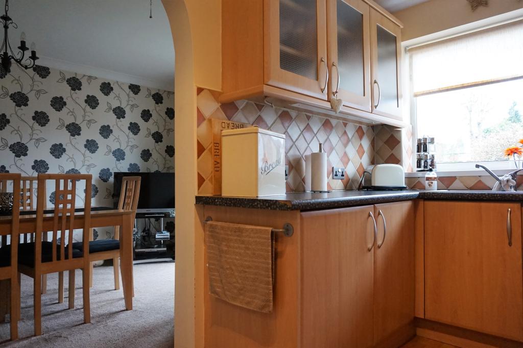 Kitchen through to Dining room. Elm Avenue. Preston. Yopa. Estate agent.