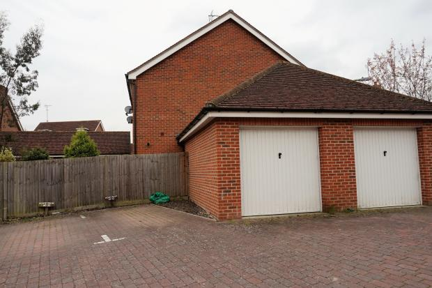 Attached single garage