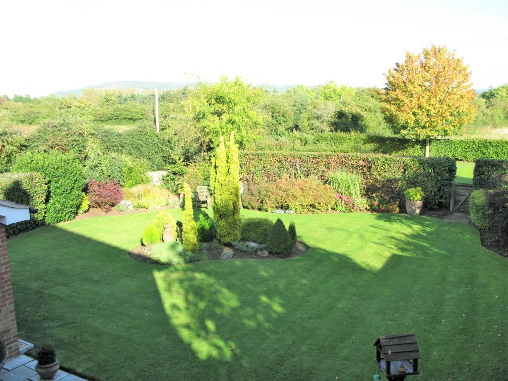 Rear View of Garden towards Bredon Hill