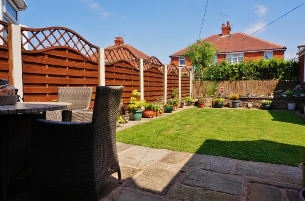 Rear Garden: Balham avenue. Blackpool estate agent.  YOPA.