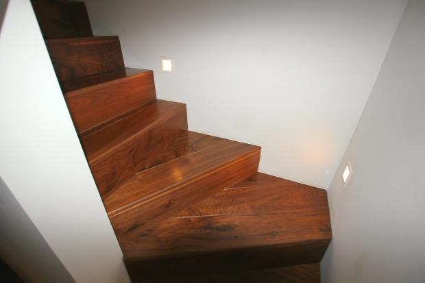 Lighted stairwell
