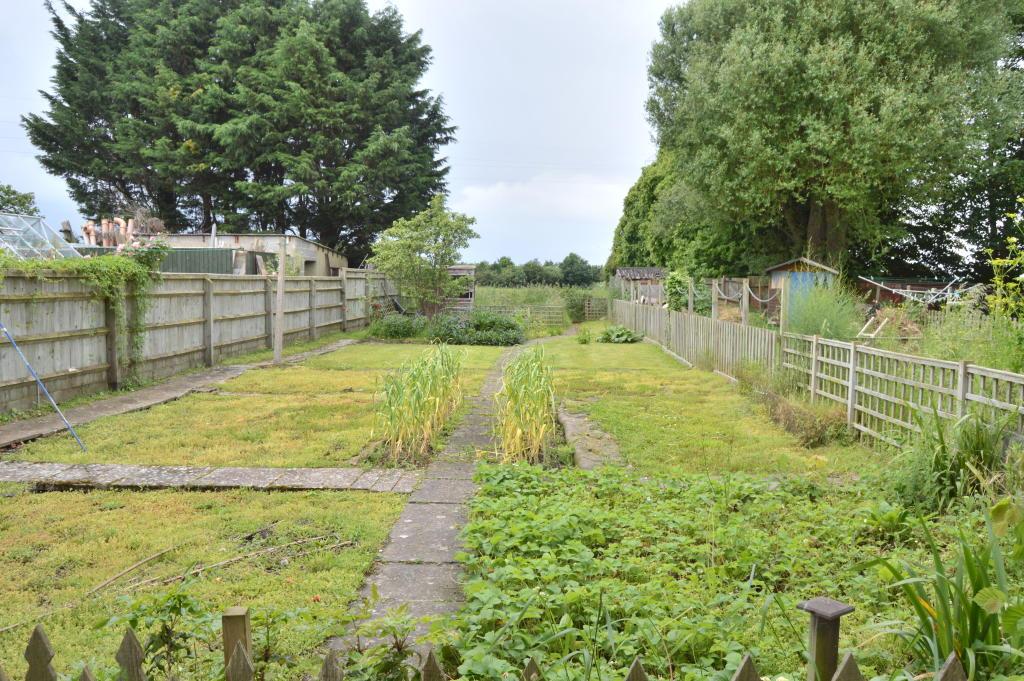 Rear half of garden