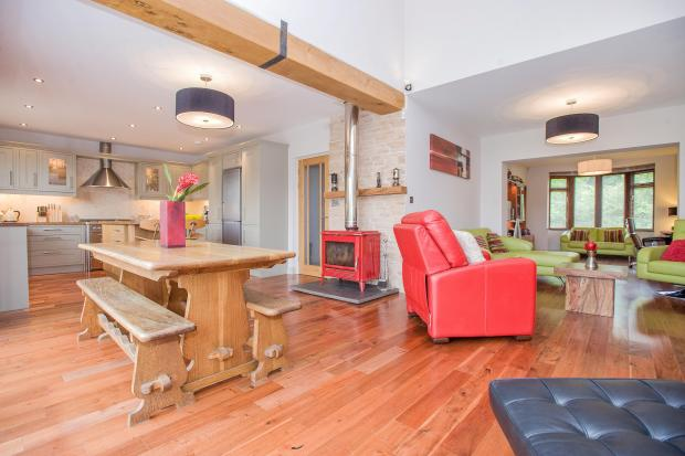 Open Plan. Family Room. Dining . Kitchen.  Lancaster Road. Carnforth Estate agents. YOPA