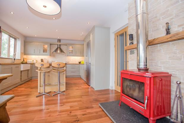 Kitchen. Dining area.  Lancaster Road. Carnforth Estate agents. YOPA