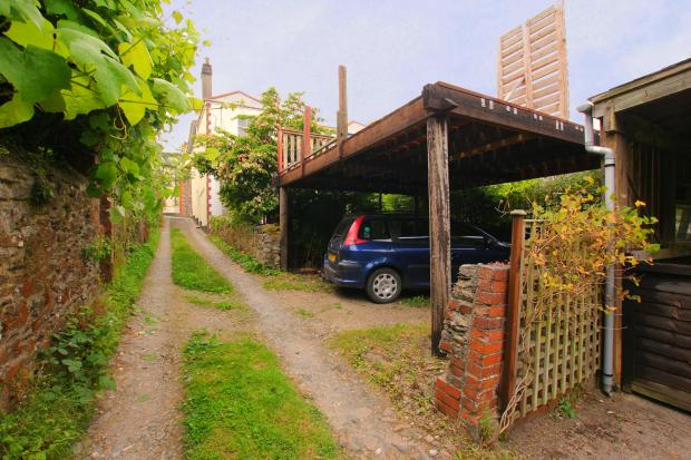 Rear Car port and access