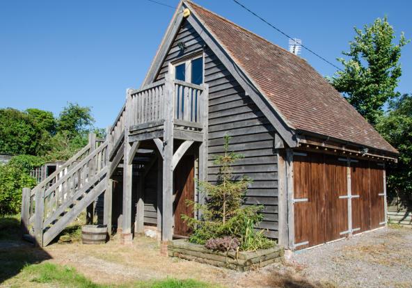 Oak annexe & garage