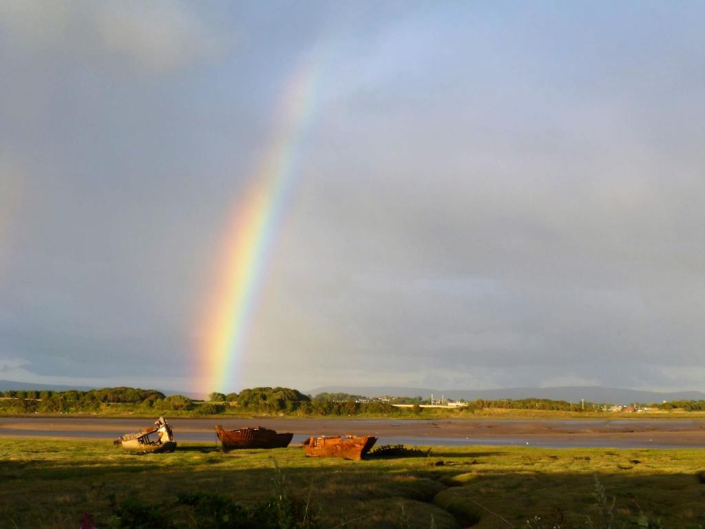 View photograph taken by current owner. Rainbow photo.JPG