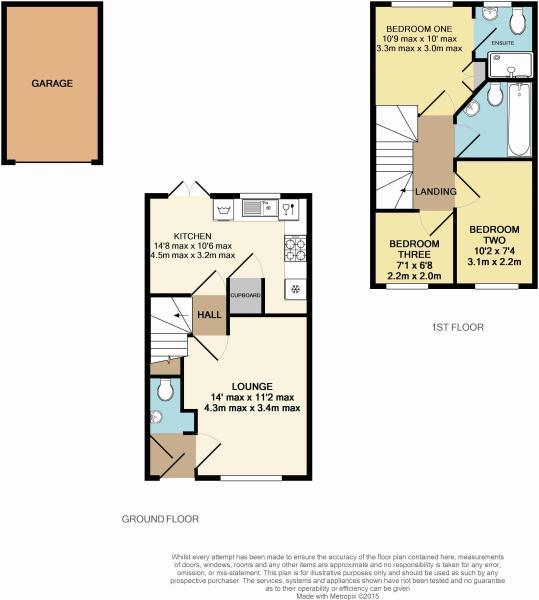 Floorplan Anglian Way, Coventry, CV3