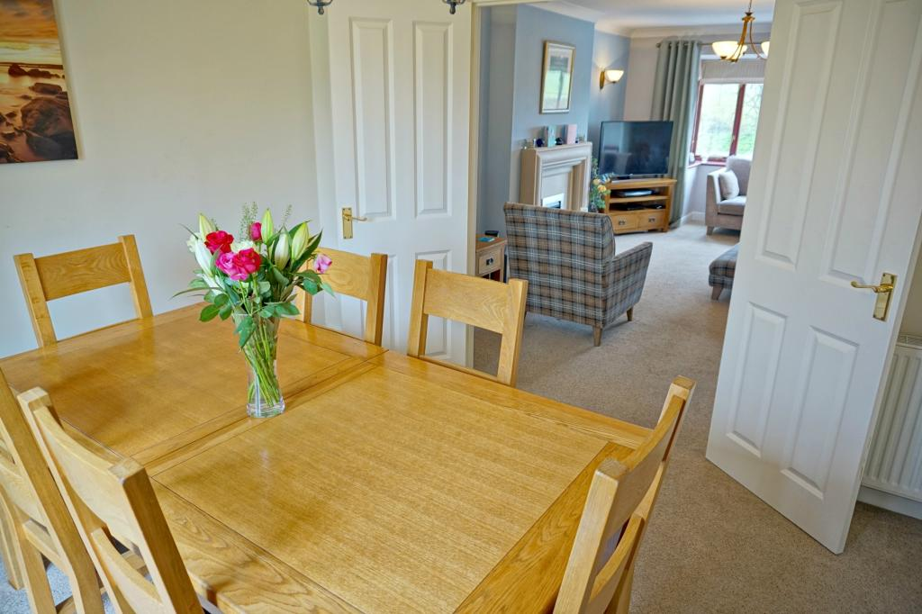 Dining Room through to Lounge