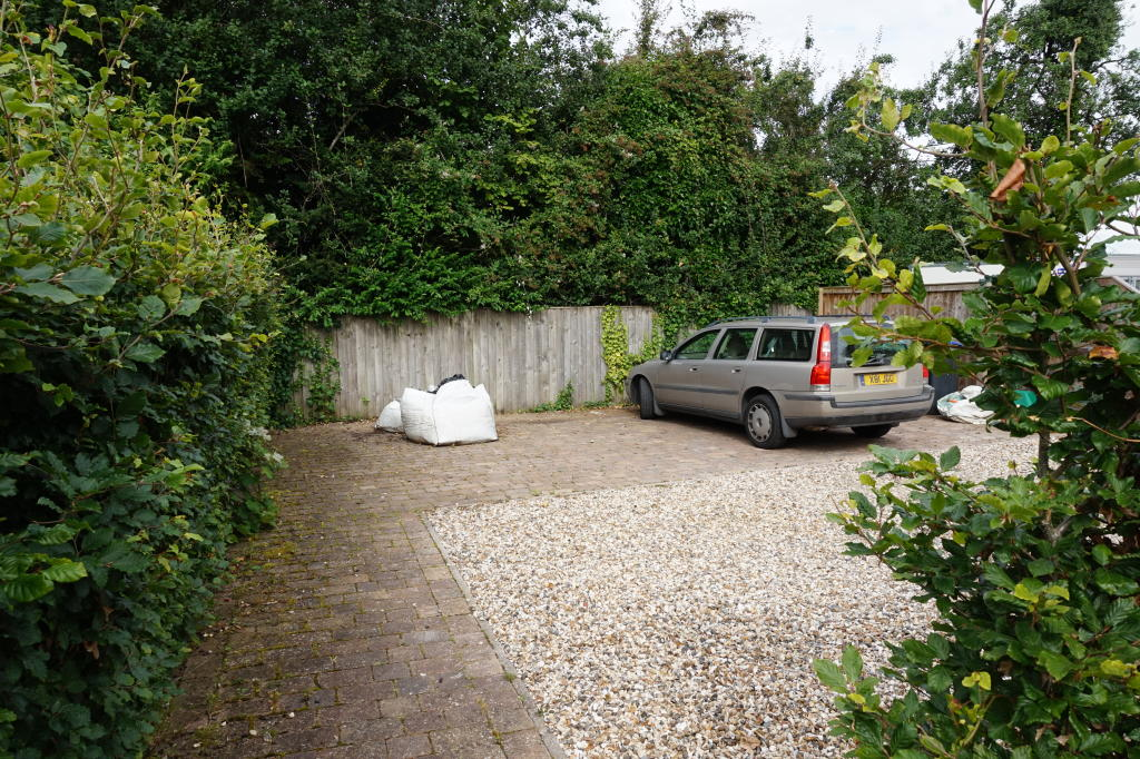 Ample off-road parking