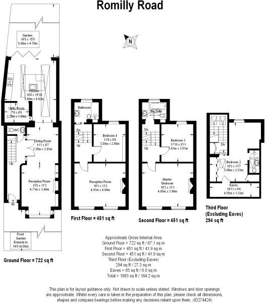 Romilly Road Floorplan