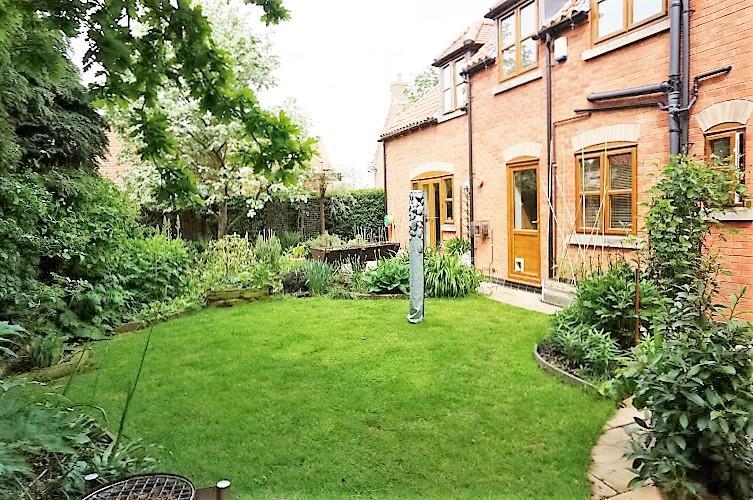 Private enclose rear garden