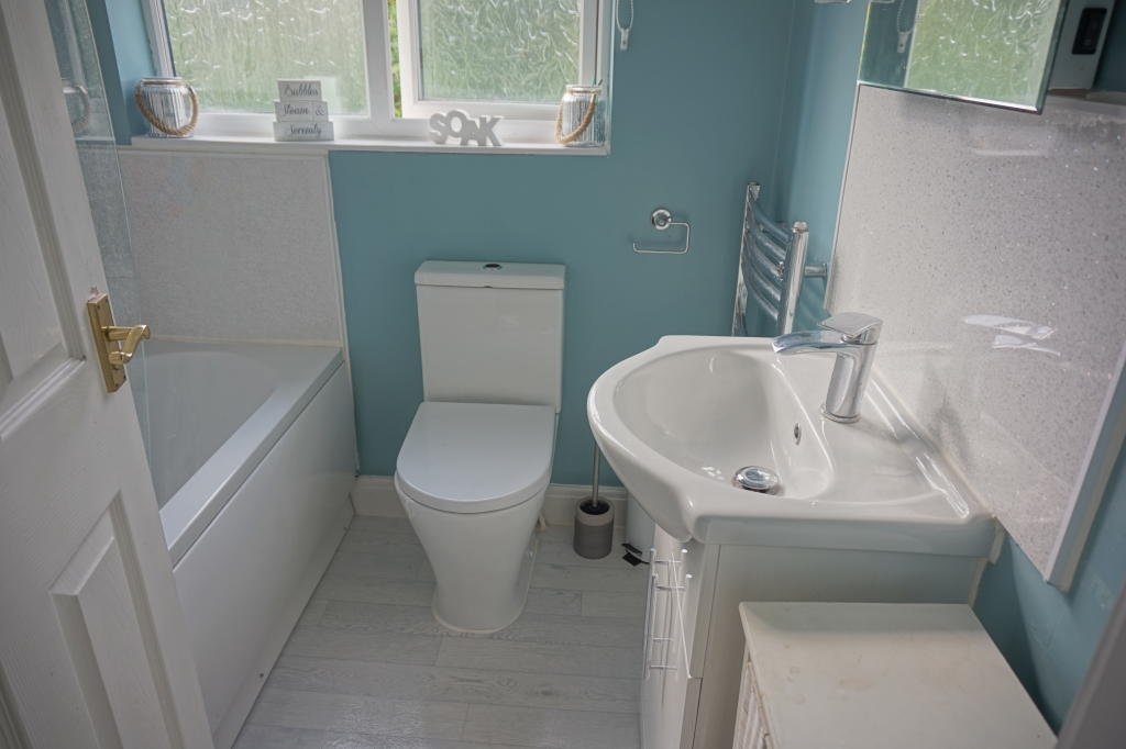 Re-fitted Bathroom with shower