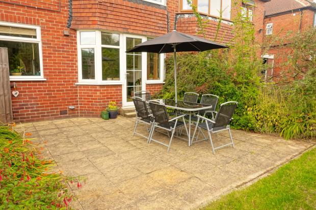 Patio To Rear Of Property