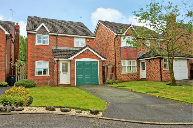 Front of House. Merlin Close. Heapey, Chorley estate agents. YOPA. Emma Procter. Local agent