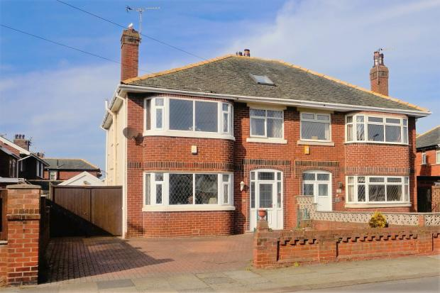 Front of House. Abercorn Close, Blackpool