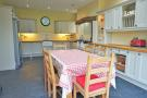Extended fitted kitchen/dining room