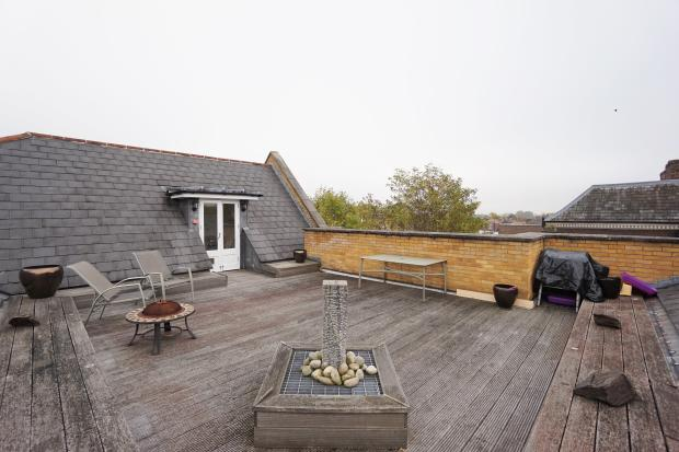 Roof Terrace.