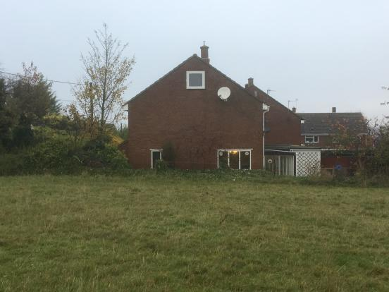 Side of house from field - photo 02.JPG