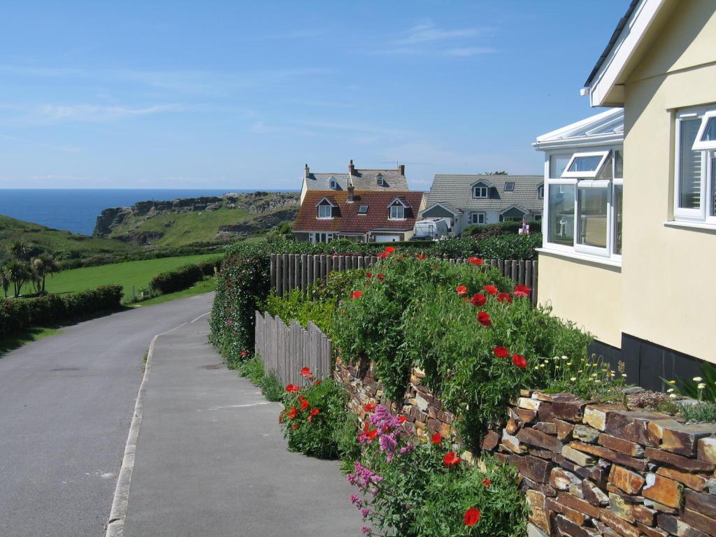 Street view to coast