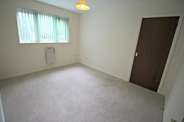 Bedroom with large built in wardrobe