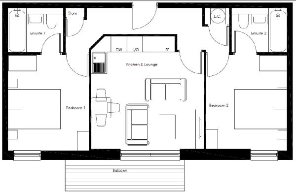 Sharer Apartment