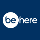 be:here, London  logo