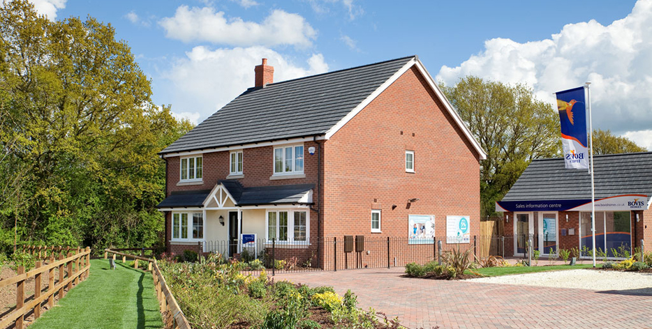 The fairways new homes development by bovis homes west for Modern homes leamington