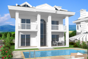 4 bedroom Villa for sale in Mugla, Hisar�n�
