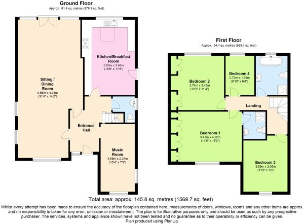 Floor Plan in 2D