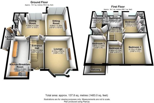 Floor Plan in 3D