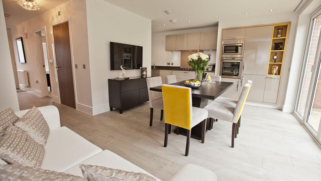 Typical Avant Dining & Kitchen Area