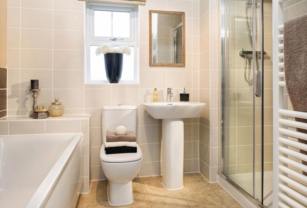 Avondale Show Home Bathroom