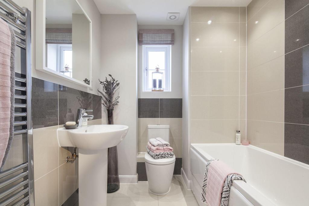Similar David Wilson Show Home Bathroom