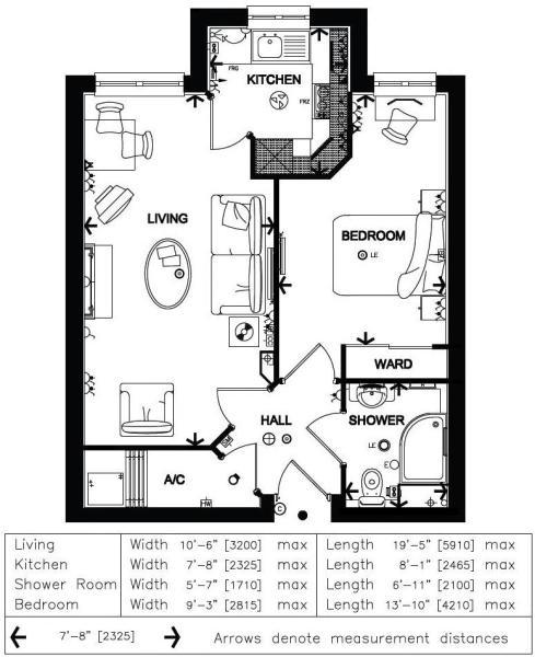 Floor Plan Apa...