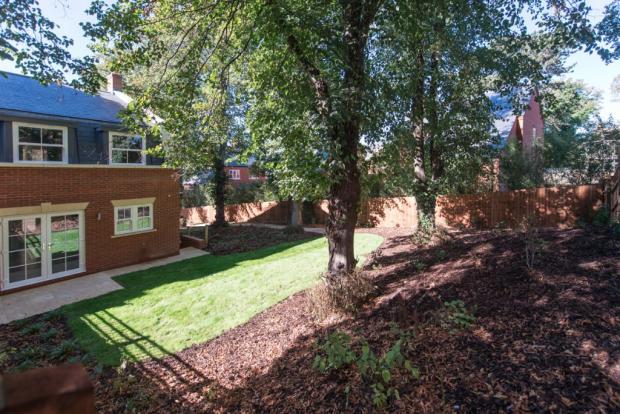 Rear garden plot 5