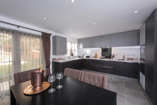 Kitchen to plot 6