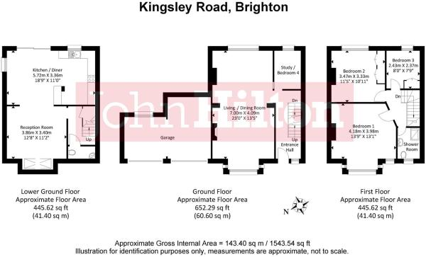 632. 3 Kingsley Road