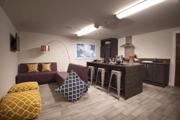 Large kitchen areas