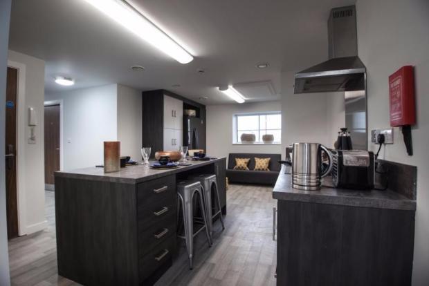 High-spec kitchens