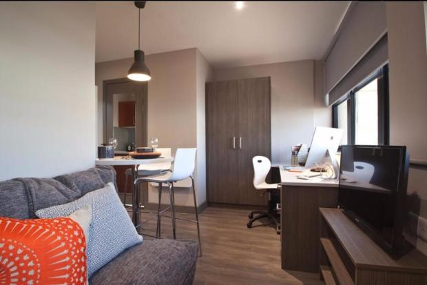 Comfy student rooms