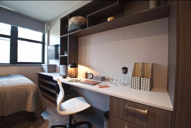 Plenty of desk space