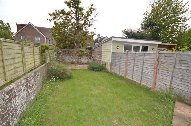 Rear garden House to